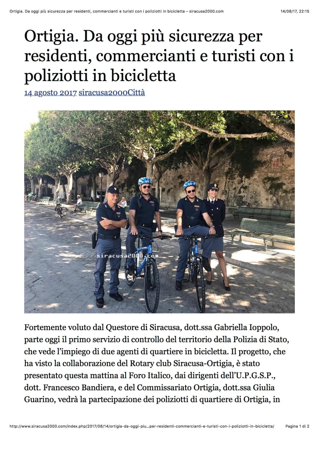 2017-08-14 Consegna Bici PS Ortigia 2